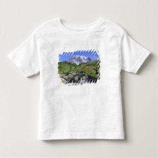 USA, Washington, Mt. Rainier NP, Mt. Rainier and 2 Toddler T-Shirt