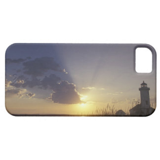 USA, Washington, near Port Townsend. Point iPhone 5 Covers