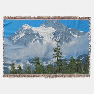 USA, Washington, North Cascades National Park 10 Throw Blanket