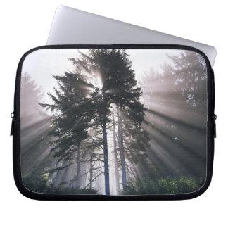 USA, Washington, Olympic National Park, Morning Laptop Sleeve