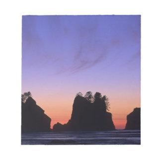 USA, Washington, Olympic National Park, Shi-shi Notepad
