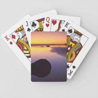 USA, Washington, Olympic Peninsula Playing Cards