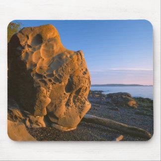 USA, Washington, Orcas Island, Boulder Mouse Pad