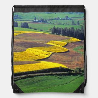 USA, Washington, Palouse, Whitman County 2 Drawstring Bag