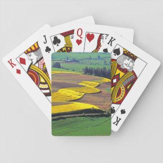 USA, Washington, Palouse, Whitman County 2 Playing Cards