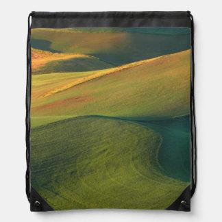 USA, Washington, Palouse, Whitman County Drawstring Bag