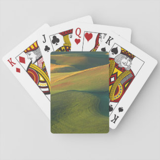 USA, Washington, Palouse, Whitman County Playing Cards