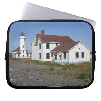 USA, Washington, Port Townsend, Point Wilson Laptop Sleeve