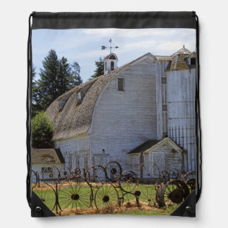 USA, Washington, Pullman, Barn Rucksack