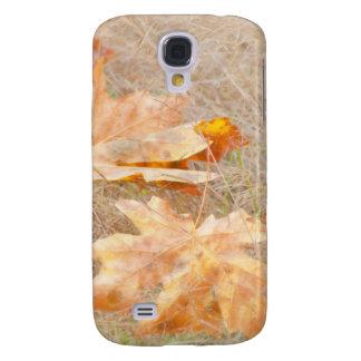 USA, Washington, Quinault. Maple Leaves Galaxy S4 Case