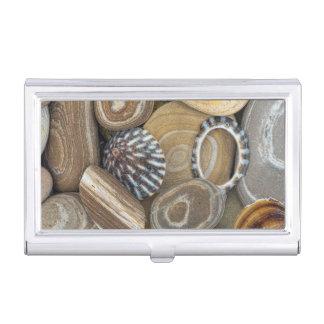 USA, Washington, Seabeck. Close-Up Of Beach Business Card Holder