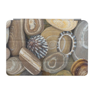 USA, Washington, Seabeck. Close-Up Of Beach iPad Mini Cover
