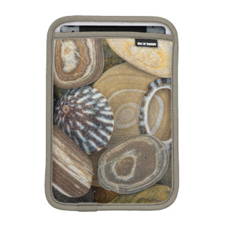 USA, Washington, Seabeck. Close-Up Of Beach iPad Mini Sleeve