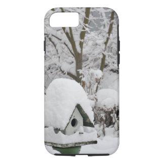 USA, Washington, Seabeck. Close-up of bird house iPhone 8/7 Case