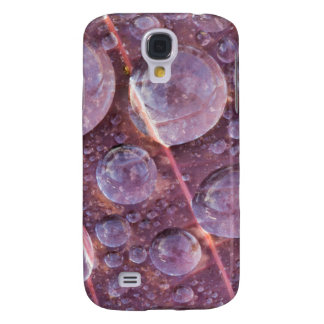 USA, Washington, Seabeck. Detail Of Dew Drops Galaxy S4 Case