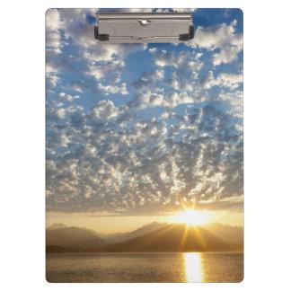 USA, Washington, Seabeck. Sunset Clipboard
