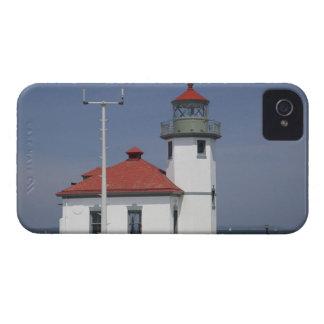 USA, Washington, Seattle, Alki Point Lighthouse, 2 iPhone 4 Cover