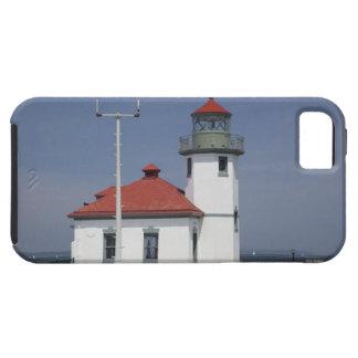 USA, Washington, Seattle, Alki Point Lighthouse, 2 iPhone 5 Covers