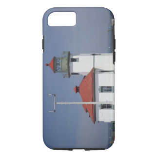 USA, Washington, Seattle, Alki Point Lighthouse, 2 iPhone 8/7 Case