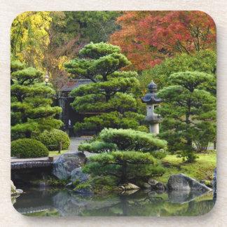 USA, Washington, Seattle, Arboretum, Japanese Beverage Coasters