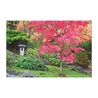 USA, Washington, Seattle, Arboretum Japanese Canvas Print
