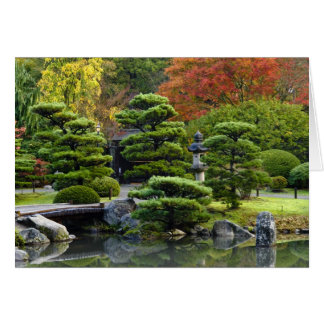 USA, Washington, Seattle, Arboretum, Japanese Card