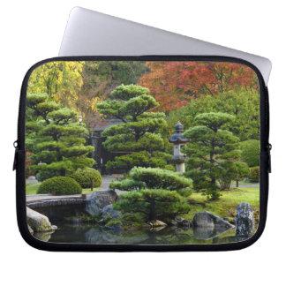 USA, Washington, Seattle, Arboretum, Japanese Laptop Sleeve