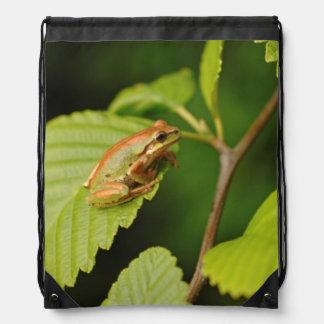 USA, Washington, Seattle, Discovery Park Drawstring Bag