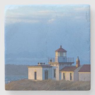 USA, Washington, Seattle, Puget Sound Stone Coaster
