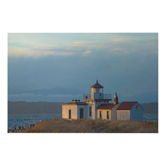 USA, Washington, Seattle, Puget Sound Wood Wall Art