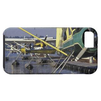 USA, Washington, Seattle, Seaplanes docked on iPhone 5 Cases