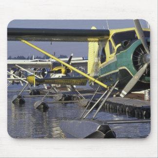 USA Washington Seattle Seaplanes docked on Mouse Pad