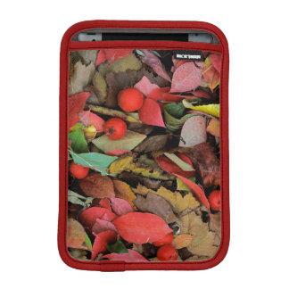USA, Washington, Spokane Co., Hawthorn Leaves iPad Mini Sleeve