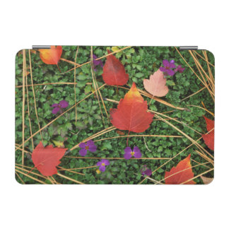 USA, Washington, Spokane County, Hawthorn Leaves 3 iPad Mini Cover
