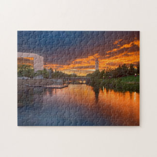 USA, Washington, Spokane, Riverfront Park Jigsaw Puzzle