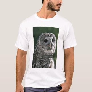 USA, Washington State. Barred Owl (Strix varia) T-Shirt