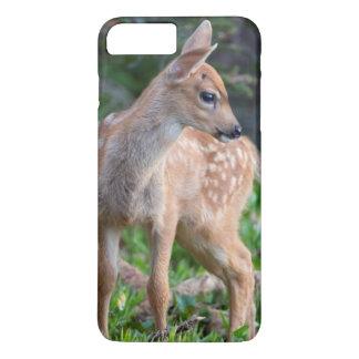USA, Washington State. Blacktail Deer Fawn iPhone 7 Plus Case