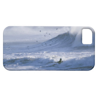 USA, Washington State, La Push. Man kayak Case For The iPhone 5