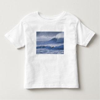 USA, Washington State, La Push. Man kayak Toddler T-Shirt