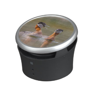 USA, Washington State. Mated Red-Necked Grebes Bluetooth Speaker