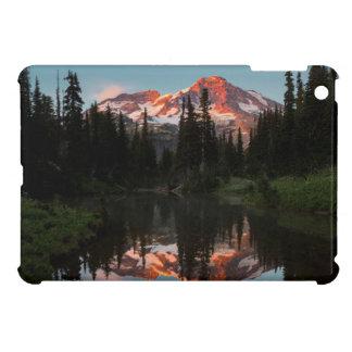USA, Washington State. Mt. Rainier Reflected iPad Mini Covers