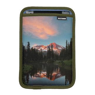 USA, Washington State. Mt. Rainier Reflected iPad Mini Sleeve