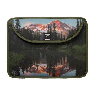 USA, Washington State. Mt. Rainier Reflected Sleeve For MacBook Pro