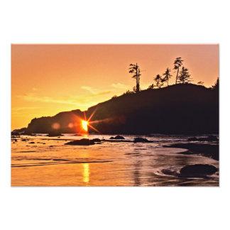 USA, Washington State, Olympic National Park. 3 Art Photo
