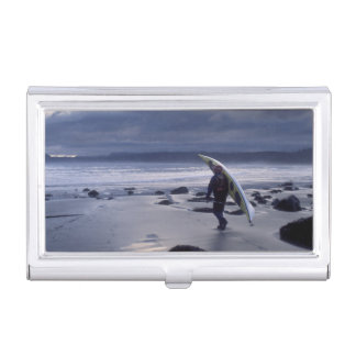 USA, Washington State, Olympic National Park. Business Card Holder