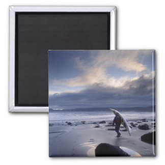 USA, Washington State, Olympic National Park. Square Magnet