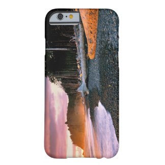 USA, Washington State, Olympic NP. Waves lap the Barely There iPhone 6 Case