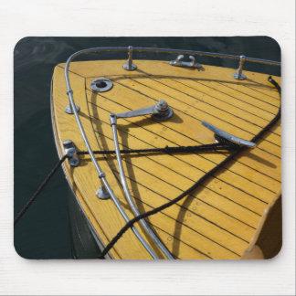 USA, Washington State, Port Townsend. Wood bow Mouse Mat