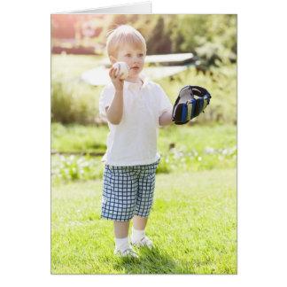USA, Washington State, Seattle, Cute boy (2-3) Card