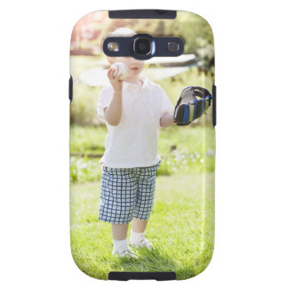 USA, Washington State, Seattle, Cute boy (2-3) Samsung Galaxy S3 Case